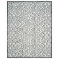 Safavieh Four Seasons Links 8-Foot x 10-Foot Indoor/Outdoor Area Rug in Grey/Ivory