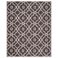 Safavieh Four Seasons Links 8-Foot x 10-Foot Indoor/Outdoor Area Rug in Grey/Ivory
