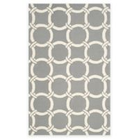 Safavieh Four Seasons Chain 5-Foot x 8-Foot Indoor/Outdoor Area Rug in Grey/Ivory