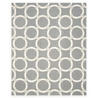 Safavieh Four Seasons Chain 8-Foot x 10-Foot Indoor/Outdoor Area Rug in Grey/Ivory