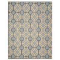 Safavieh Four Seasons Logan 8-Foot x 10-Foot Area Rug in Grey/Gold