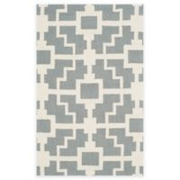 Safavieh Four Seasons Blair 5-Foot x 8-Foot Indoor/Outdoor Area Rug in Grey/Ivory