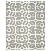 Safavieh Four Seasons Blair 8-Foot x 10-Foot Indoor/Outdoor Area Rug in Grey/Ivory