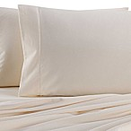 The Seasons Collection® Heavyweight Flannel King Sheet Set in Ecru