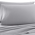 The Seasons Collection® Heavyweight Flannel Queen Sheet Set in Heather Grey
