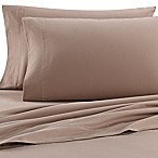 The Seasons Collection® Heavyweight Flannel Queen Sheet Set in Taupe
