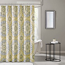 Madison Park Essentials Serenity Printed Shower Curtain