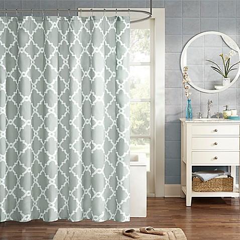 Madison Park Essentials Merritt Printed Shower Curtain