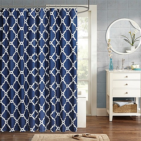 Buy Madison Park Essentials Merritt Printed Shower Curtain