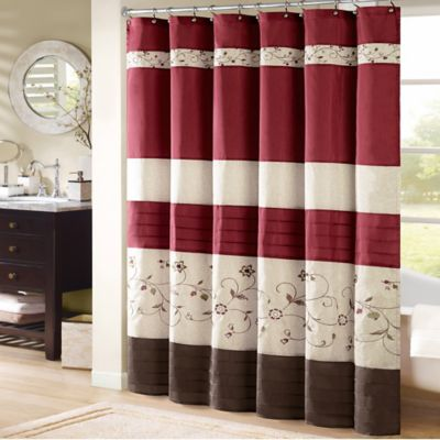 Curtains Ideas coca cola shower curtain : Buy 78-Inch Fabric Shower Curtain from Bed Bath & Beyond