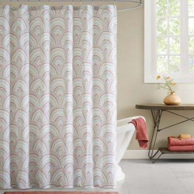 Buy Coral Shower Curtains from Bed Bath & Beyond