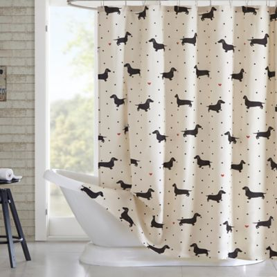 Ordinaire HipStyle Olivia Printed Shower Curtain In Natural