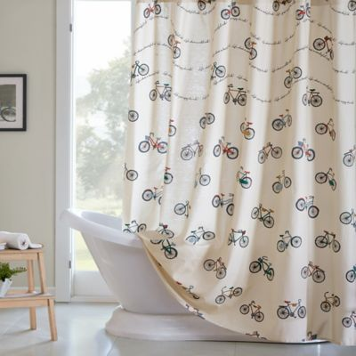 vintage shower curtains buy retro shower curtain from bed bath amp beyond 29059