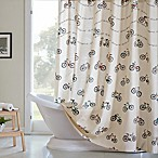 HipStyle Raleigh Printed Shower Curtain