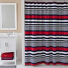 IZODu0026reg; Varsity Stripe Shower Curtain