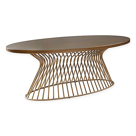 Ink Ivy 174 Mercer Coffee Table In Bronze Bed Bath Amp Beyond