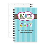Kahootie Co® Baby's Daily Log Notebook in Teal