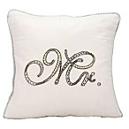 "kathy ireland® Home by Nourison Beaded ""Mr."" Square Throw Pillow"