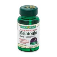 Nature's Bounty® 60-Count Melatonin Maximum Strength 10 mg Capsules