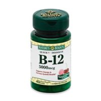 Nature's Bounty 40-Count B-12 Quick Dissolve 5000 mcg Tablets