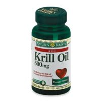Nature's Bounty 30-Count Krill Oil 500 mg Softgels