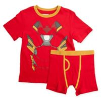 Underoos® Size Extra Small 2-Piece Iron Man T-Shirt and Boxer Brief Set