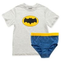 Underoos® Size Extra Small 2-Piece Batman T-Shirt and Boxer Brief Set