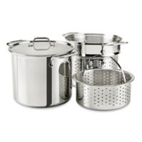 All-Clad 8 qt. Stainless Steel Covered Multicooker