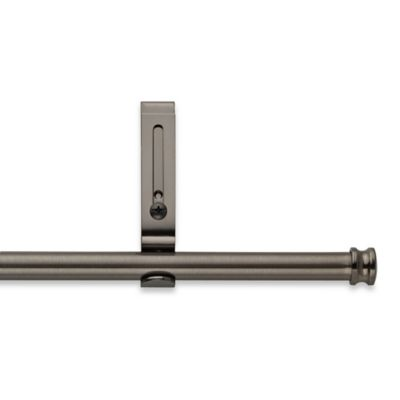 Cambria® Classic Complete 28 To 44 Inch Adjustable Curtain Rod In Graphite