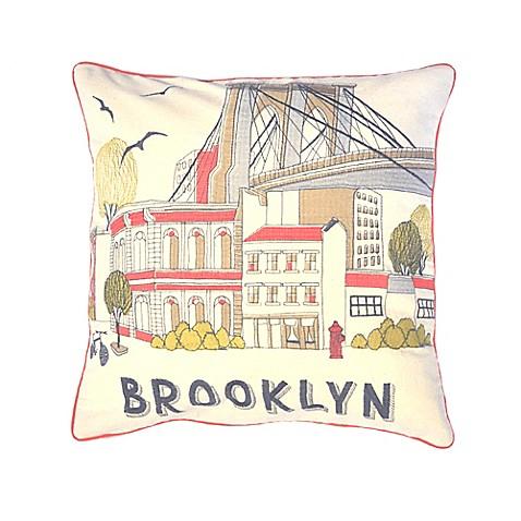 Brooklyn Bridge Throw Pillows   Redbubble