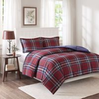 Premier Comfort Bernard XL 3M Scotchgard Down Alternative Comforter Mini Set in Red