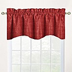 Shala M-Shaped Window Valance in Red