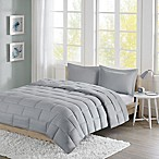 Intelligent Design Avery Reversible 3-Piece Full/Queen Comforter Set in Grey