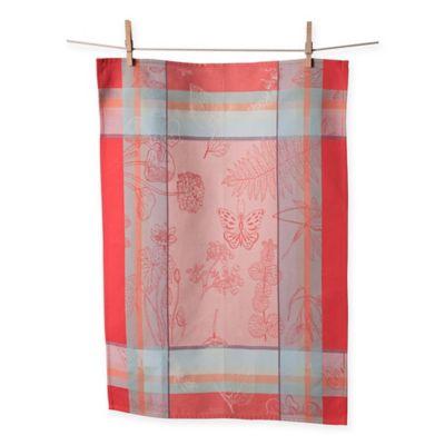 Ordinaire European Jacquard Butterflies Kitchen Towels (Set Of 2)