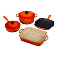 Le Creuset® Signature 6-Piece Cookware Set in Flame