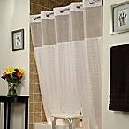 BenchBuddy® Polyester Shower Curtain in White