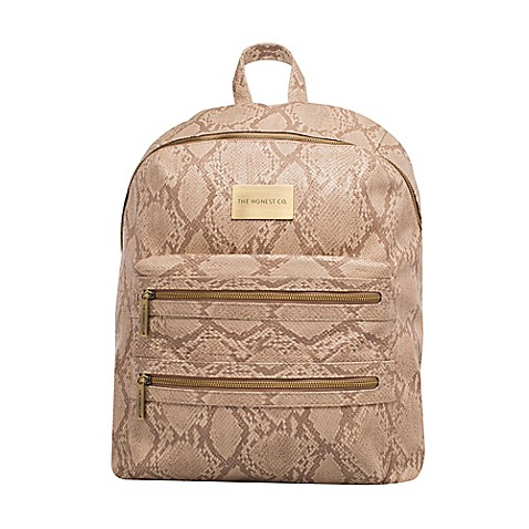 the honest company city backpack diaper bag in python print bed bath beyond. Black Bedroom Furniture Sets. Home Design Ideas