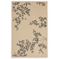 Liora Manne 4-Foot 10-Inch x 7-Foot 6-Inch Terrace Vine Rug in Neutral