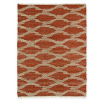 Kaleen Kenwood Global Diamonds 3-Foot 6-Inch x 5-Foot 6-Inch Area Rug in Paprika