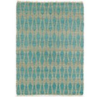 Kaleen Kenwood Weave 3-Foot 6-Inch x 5-Foot 6-Inch Area Rug in Teal