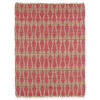 Kaleen Kenwood Weave 8-Foot x 11-Foot Area Rug in Pink