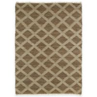 Kaleen Kenwood Diamonds 8-Foot x 11-Foot Area Rug in Chocolate