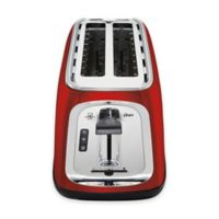 Oster® 4-Slice Long-Slot Toaster in Red