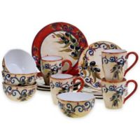 Certified International Umbria 16-Piece Dinnerware Set