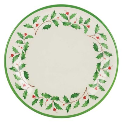 Lenox® Holiday® Melamine Dinner Plates (Set of 4)  sc 1 st  Bed Bath \u0026 Beyond & Buy Lenox® Holiday™ Plates from Bed Bath \u0026 Beyond