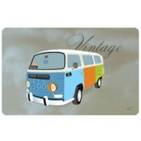 Weather Guard™ 18-Inch x 27-Inch Vintage Hippie Van Kitchen Mat