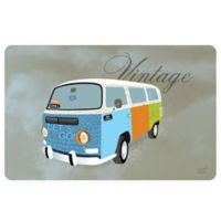 Weather Guard™ 23-Inch x 36-Inch Vintage Hippie Van Kitchen Mat
