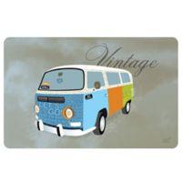 Weather Guard™ 23-Inch x 36-Inch Vintage Hippie Van Kitchen Mat