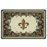 The Softer Side by Weather Guard™ 18-Inch x 27-Inch Dresden Fleur Kitchen Mat
