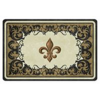 The Softer Side by Weather Guard™ 23-Inch x 36-Inch Dresden Fleur Kitchen Mat
